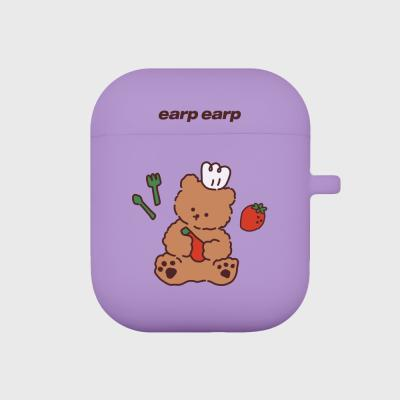 strawberry time-purple(Air pods)