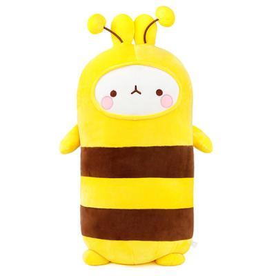 [몰랑이] 모찌 소프트몰랑 애착 바디쿠션 55cm 꿀벌