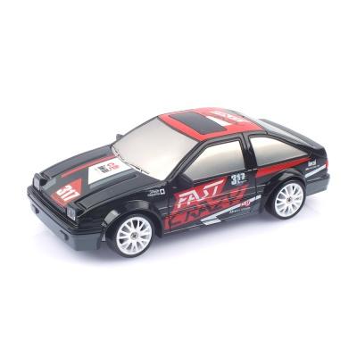 1/24 4륜구동 드리프트카 AE86 블랙 RC HB117092BK