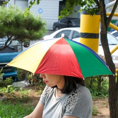 우산형 무지개 모자(60cm)
