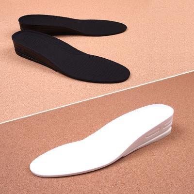 키높이 쿠션 깔창 3.3cm 2단 블랙 화이트 JZ1012