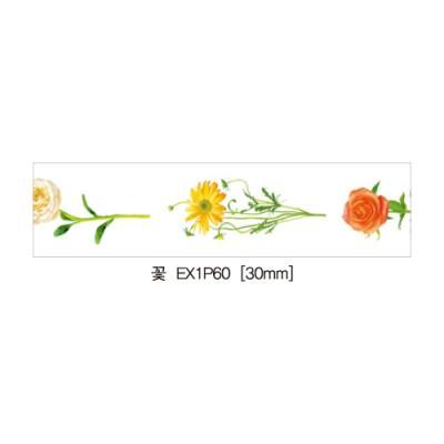 디자인마스킹테이프K-EX1P60(꽃)(개) 226581