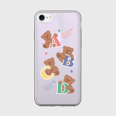 alphabet gummy 글로시미러케이스