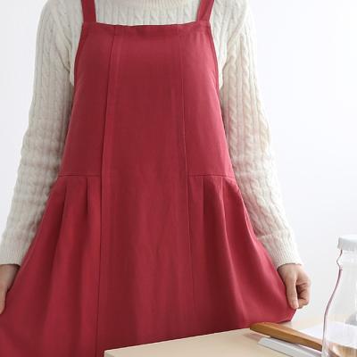 드레스 앞치마 (3color)
