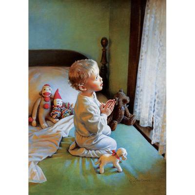 500피스 직소퍼즐 - 어린아이의 기도