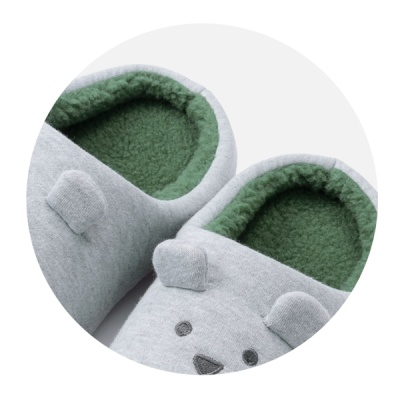 크래프트홀릭 MEN'S SLOTH SLIPPER