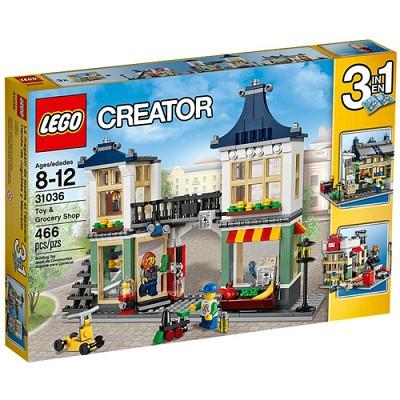 [레고 크리에이터] 31036 장난감 가게와 식료품점