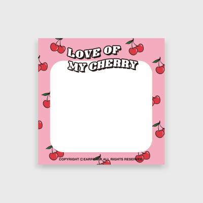 Love cherry(떡메모지)