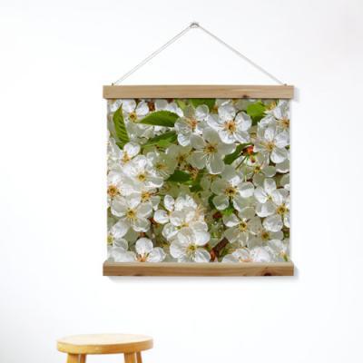 ah332-우드스크롤_60CmX60Cm-5월의벚꽃