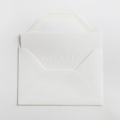 [파브리아노] 카드 GRAZIE
