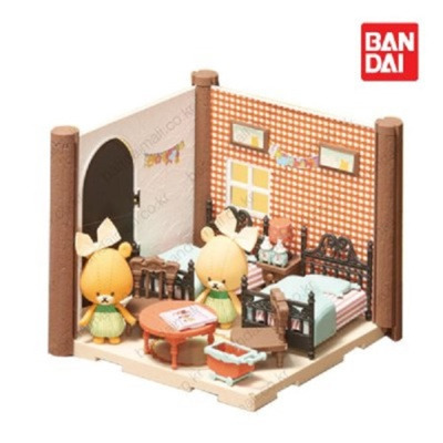 반다이 하코룸 쌍둥이 아이방 키트 /조립 장난감 세트