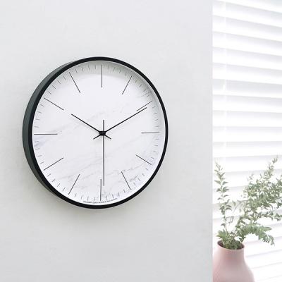 마블패턴무소음벽시계-B(3color)
