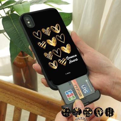 [아이폰8] 골드하트 카드슬롯 케이스
