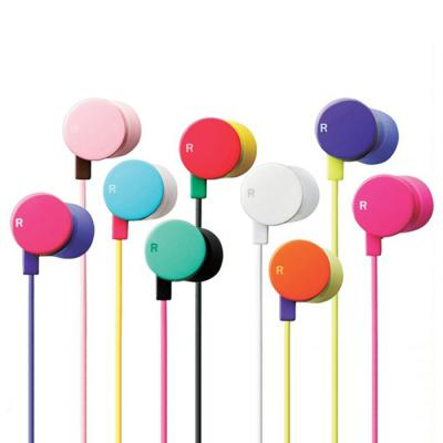 도넛 핸즈프리 스마트폰 이어폰 마이크 (5색상 중 선택)