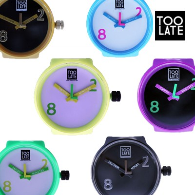 [TOOLATE] 이태리감성 브랜드 이태리정품 MASH-UP LARGE WATCH CLOCKWORK (시계 알)