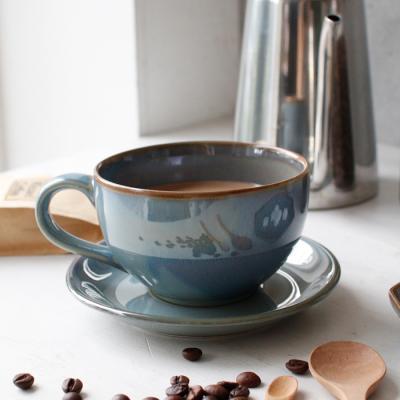 (남승일 도자기) 홈카페 라떼 커피잔 380ml