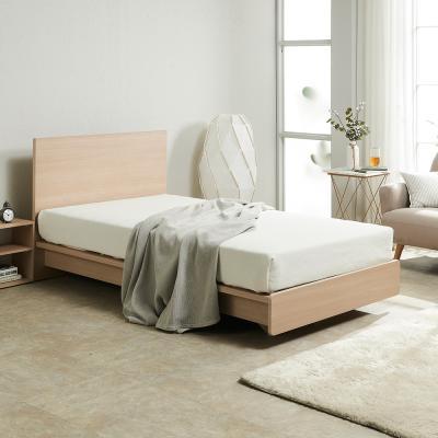 르네 심플 평상형 침대 슈퍼싱글+7존 독립매트리스