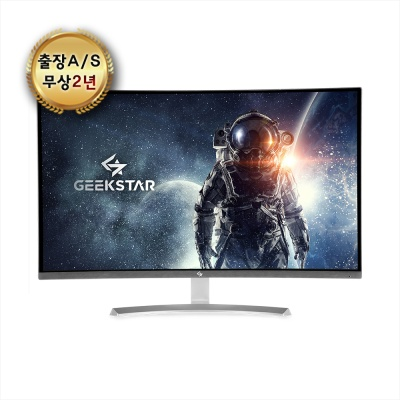 GEEKSTAR 32형 FHD 커브드 강화유리 게이밍 모니터 GS-R3265CB