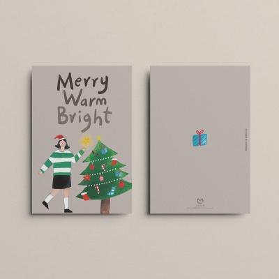 [카드] MERRY WARM BRIGHT