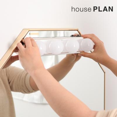 [1+1 이벤트] 붙이는 무선 거울조명_4colors