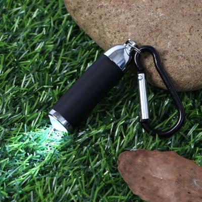 카라비너 LED 후레쉬(블랙)