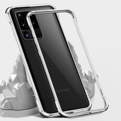 아이폰11 PRO MAX/글로우 에어백 메탈 범퍼 폰케이스