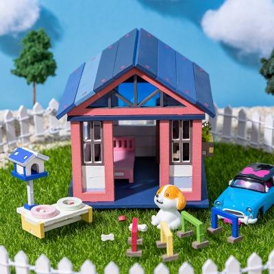 DIY 미니어처 집 만들기 풀세트-베이직 하우스