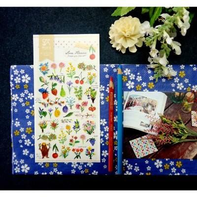 JR 스티커 2035-Love Flower
