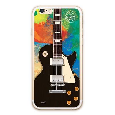 애플 아이폰6/6s 데칼 스티커/스킨 [기타/Les Paul Black] - DSP6-GTLPBK