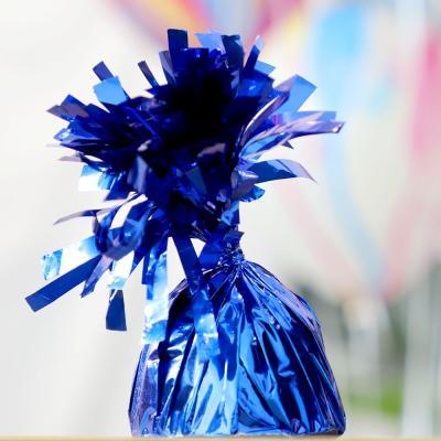 은박 풍선 무게추 (블루)