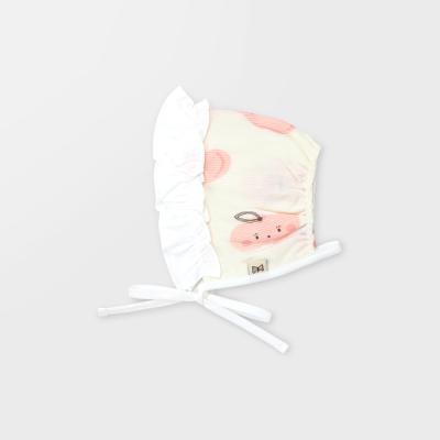 [메르베] 납작복숭아 아기모자/보넷/비니_여름용