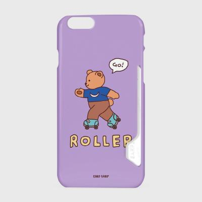 Roller bear-violet(카드수납케이스)