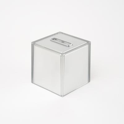 이태리 게디 레인보우 정사각형 티슈케이스