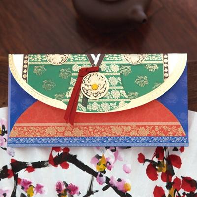 황후치마저고리 용돈봉투  FB220-3
