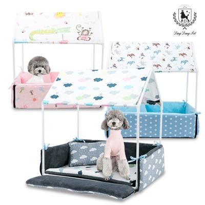 [딩동펫]애견하우스 범퍼침대 강아지침대
