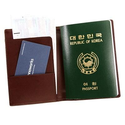 여권 지갑 GS 402 브라운 (이노웍스)