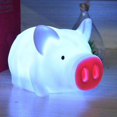 돼지 터치 무드등