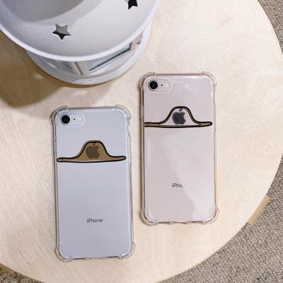 아이폰7/8 사과를삼킨보아뱀 방탄케이스