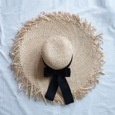 Natural Ribbon Sun Hat