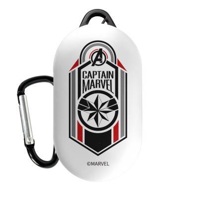 마블 어벤져스 히어로마크 갤럭시버즈케이스 캡틴마블