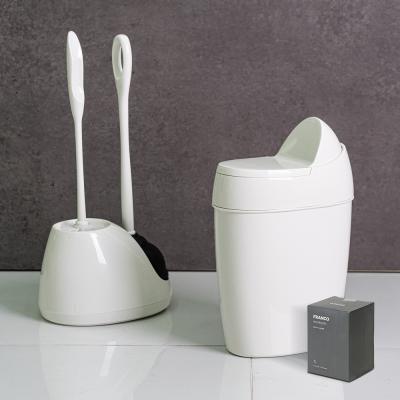 프랑코 바스 휴지통7L+화장실 변기클리너 세트