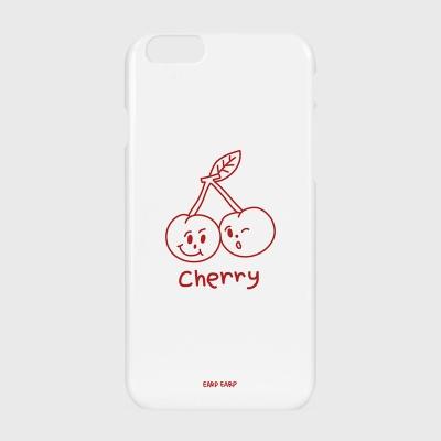 [어프어프] 하드/터프/슬라이드 Twin cherries-white