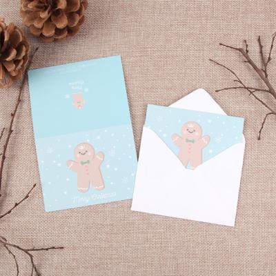 크리스마스 카드 - 진저맨