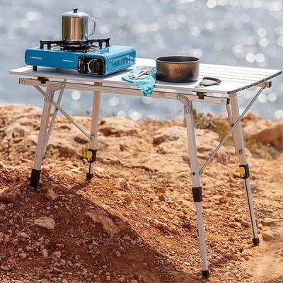 스노우아울 컨트롤 알루미늄 테이블 화이트