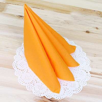 파티용 칼라 냅킨-오렌지(20매)