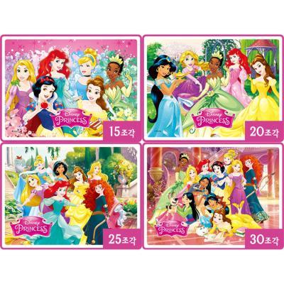 15 20 25 30조각 판퍼즐 - 디즈니 프린세스 (4종)