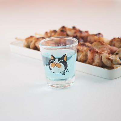 라씨에뜨 건방진 냥냥이 고양이 소주잔 4p