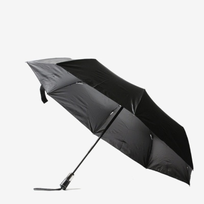 파라체이스 프리미엄 가죽 그립 자동 3단 우산