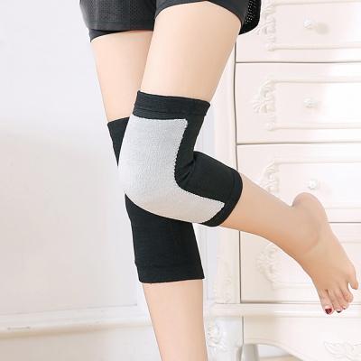스판덱스 방한 무릎보호대(블랙) (M)