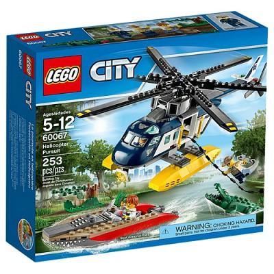[레고 시티] 60067 헬리콥터 추격전